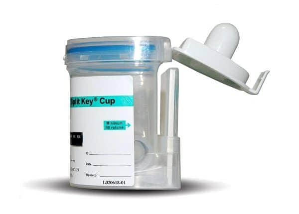 Integrated EZ Split Key Cup